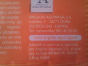 Angulas Aguinaga S.A. Krissia